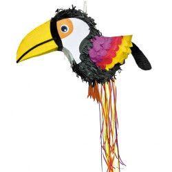 Pinata toucan des tropiques anniversaire Déco festive 40179060
