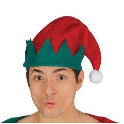 Bonnet elfe avec pompon Accessoires de fête 41570