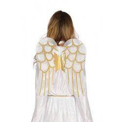 Déguisements, Déguisement ange femme avec ailes taille M, 41578, 25,90€