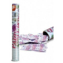 Canon à faux billets 500 euros Déco festive 4169