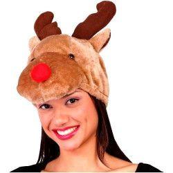Bonnet de renne Accessoires de fête 42095