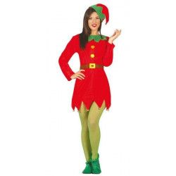 Déguisement elfe rouge femme taille S Déguisements 42415