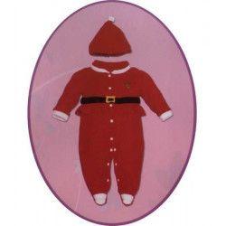 Déguisement pyjama père noël bébé 12 mois Déguisements 42556