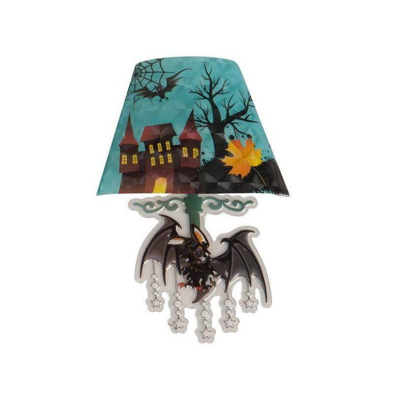 Lampe lumineuse adhésive avec motif chauve-souris Déco festive 4311