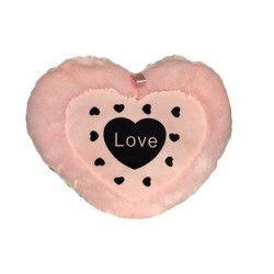 Peluche coeur rose 30 cm Jouets et kermesse 4315