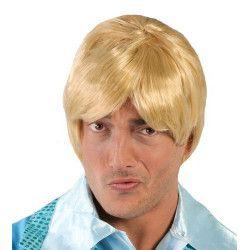 Perruque blonde homme Accessoires de fête 4352