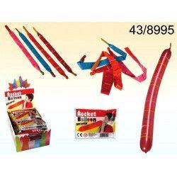 Ballon baudruche Rocket Balloon x 12 Déco festive 438995