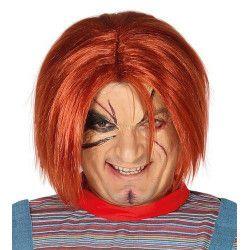 Perruque poupée maléfique Chuck Accessoires de fête 4390