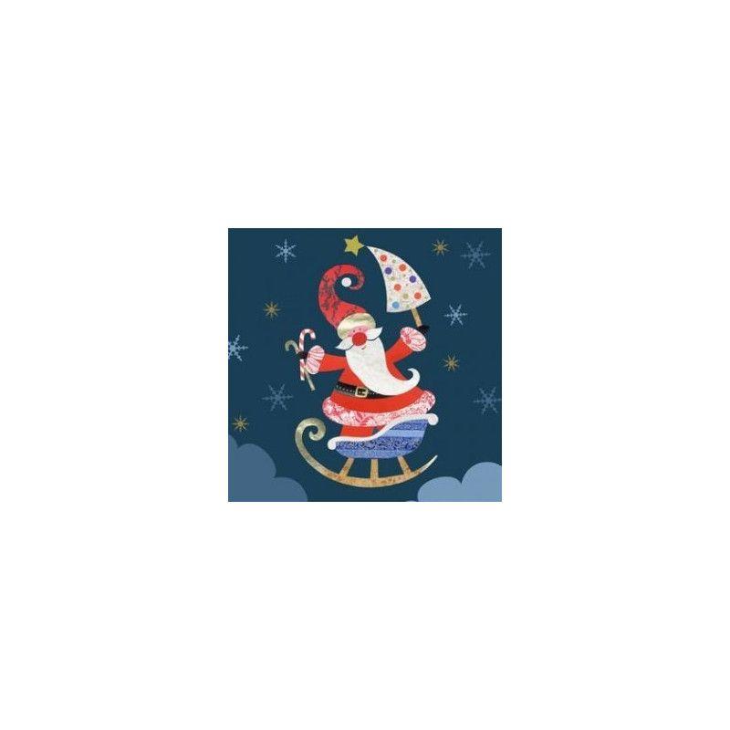 Serviettes imprimées 40 x 40 cm 20 pièces 44181 noël Déco festive 44181