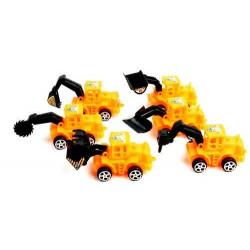 Camion de chantier rétrofriction 10 cm kermesse vendu par 48 Jouets et articles kermesse 44339-LOT