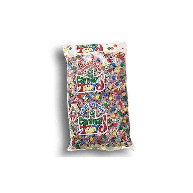 Sachet confettis multicolores 250 g Déco festive 4457