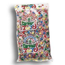 Sachet confettis carnaval multicolores 100 g Déco festive 4459