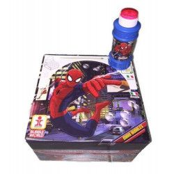 Lot de 16 maxi bulles de savon Spiderman 175 ml Jouets et kermesse 450159