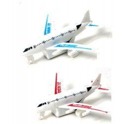 Avion de ligne rétro-friction 8 cm kermesse vendu par 48 Jouets et articles kermesse 45442-LOT