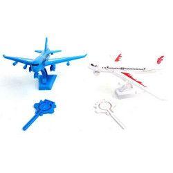Avion de ligne avec socle et lanceur vendu par 48 Jouets et articles kermesse 45640