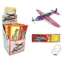 Avion planeur styro 20 cm vendu par 48 Jouets et articles kermesse 45831-LOT