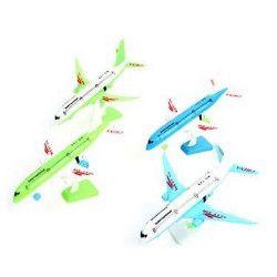 Avion de ligne RF 12 cm avec socle vendu par 24 Jouets et kermesse 46203-LOT