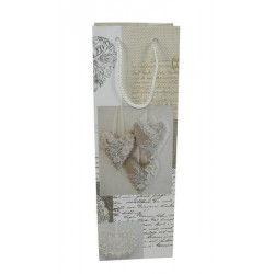 Sachet cadeau avec coeur dentelle 36 cm Divers 46843