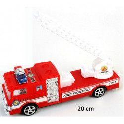 Véhicule camion pompier friction 20 cm Jouets et articles kermesse 47309