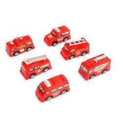 Camion pompier rétrofriction 6.5 cm vendu par 24 Jouets et articles kermesse 47347-LOT