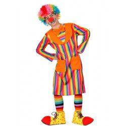Déguisement clown bariolé garçon 4-6 ans Déguisements 4784