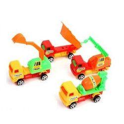 Véhicule camion rétrofriction 10 cm vendu par 24 Jouets et articles kermesse 49013-LOT