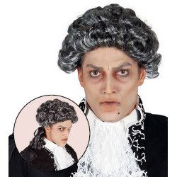 Perruque vampire Marquis adulte Accessoires de fête 4901GUIRCA