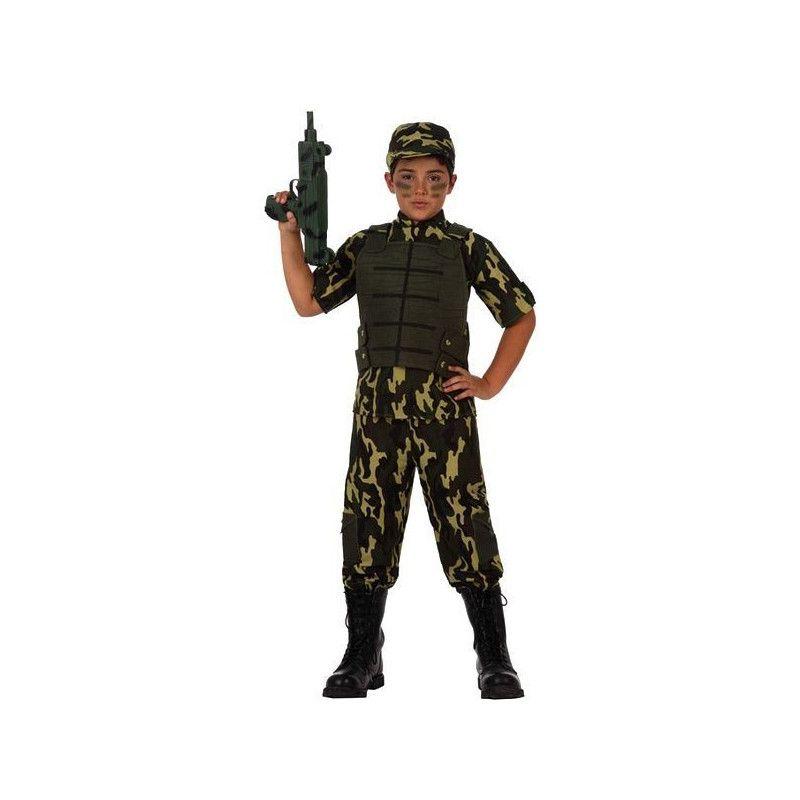 Déguisements, Déguisement militaire garçon 4-6 ans, 10952, 24,50€