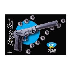 FG Pistolet à billes 30 cm avec silencieux  3700156450816