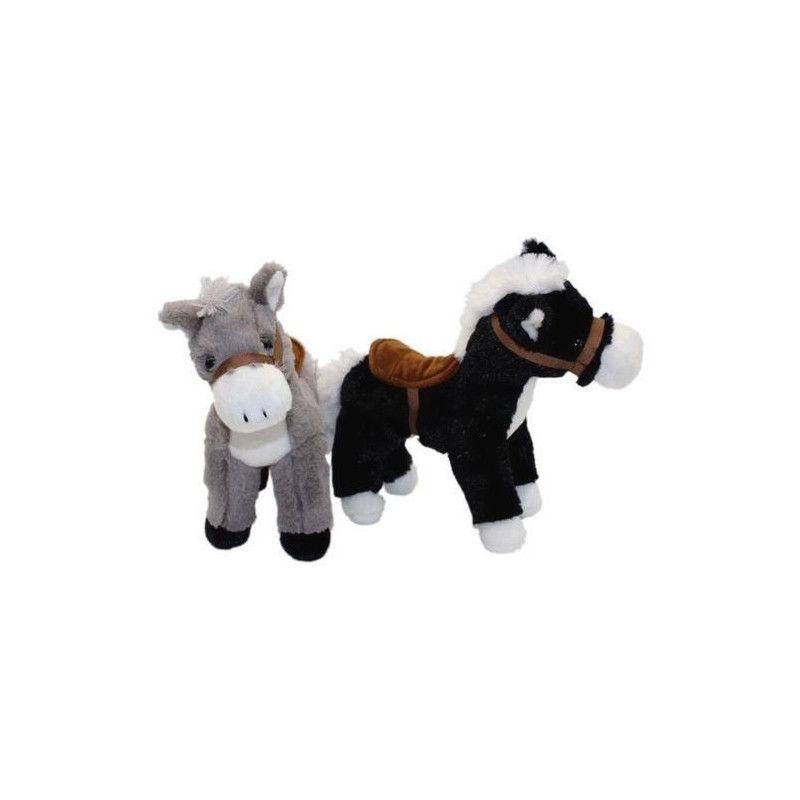 Peluche cheval debout 25 cm Jouets et articles kermesse 5102