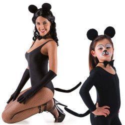 Accessoires de fête, Parure noire de souris, 5165, 3,90€