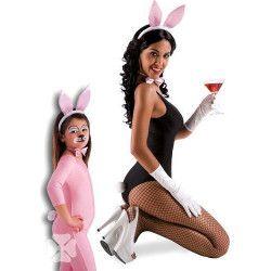 Parure rose de lapin Accessoires de fête 5167
