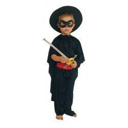 Panoplie déguisement bandit masqué garçon 4-7 ans Déguisements 520035ZORRO