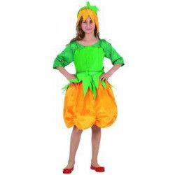 Déguisements, Déguisement citrouille fille âge 4-6 ans, 5215, 12,50€
