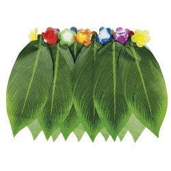 Jupe hawaïenne feuilles de bananier Accessoires de fête 52245