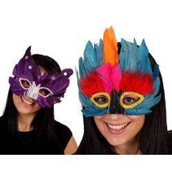 Masque de plumes Accessoires de fête 52880