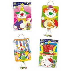 Déco festive, Piñata Party clown, 5311, 3,90€