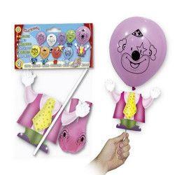Déco festive, Ballon baudruche marionnette, 5314, 1,60€
