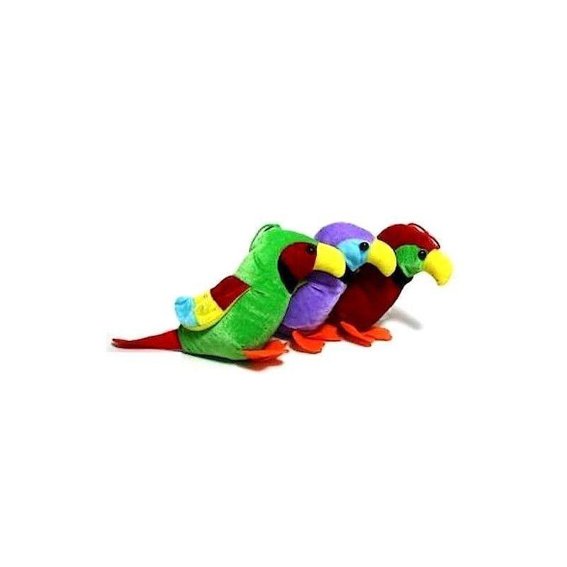 Peluche perroquet 16 cm Jouets et articles kermesse 5317