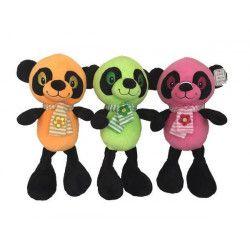 Peluche panda fluo avec écharpe 26 cm BT411 Jouets et articles kermesse 5343