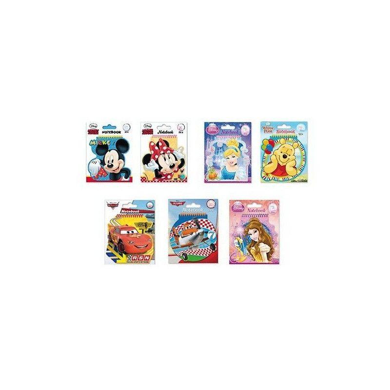 Carnet à spirales Disney Jouets et articles kermesse 53687