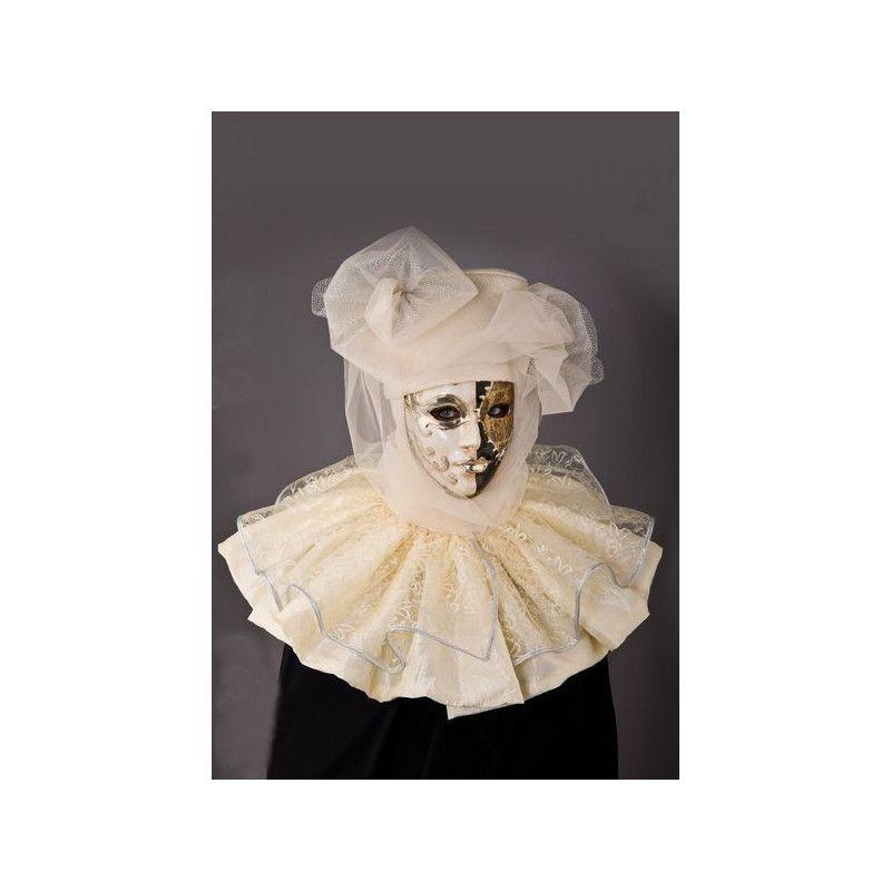 Masque de carnaval avec voile Accessoires de fête 5477