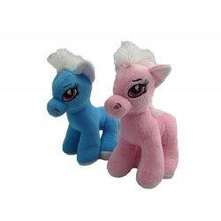 Peluche poney debout hauteur 20 cm Jouets et articles kermesse 56429