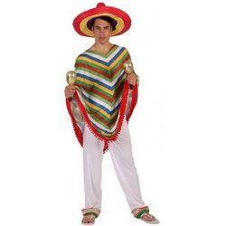Déguisements, Déguisement mexicain adulte taille M-L, 5661, 24,70€