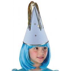Chapeau bleu de fée enfant Accessoires de fête 5677