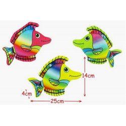 Peluche poisson arc en ciel 25 cm /N/ Jouets et kermesse 57693