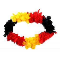 Collier de fleurs Tahiti Allemagne-Belgique Déco festive 59193