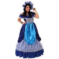 Déguisement dame bleue femme taille M-L Déguisements 5920