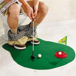 Jeu de golf accessoire toilette Accessoires de fête 592049