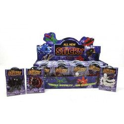 Motif gluant sticky vendu par 48 Jouets et kermesse 6007-LOT